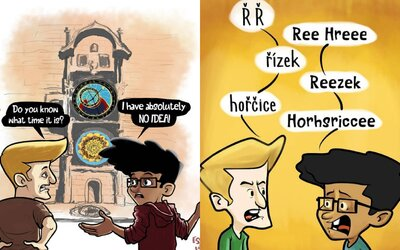 Student z Bangladéše kreslí komiksy o českých stereotypech. Češi nejsou rasisté, jsou vtipní i věčně naštvaní, říká