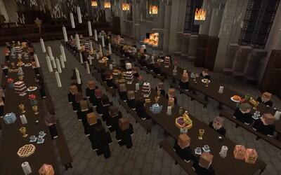 Študenti v Minecrafte vytvorili celý svet z kníh a filmov o Harrym Potterovi. Už v januári by mal byť oficiálne spustený