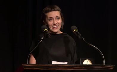 Studentka FAMU získala studentského Oscara za film Dcera, v proslovu poděkovala České republice
