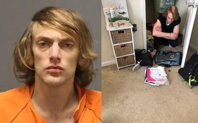 Študentka na intráku našla vo svojom šatníku muža, ktorý tam žil a obliekal si jej oblečenie