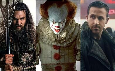 Štúdio Warner Bros. odhalí na Comic-Cone prvé zábery z Aquamana či Spielbergovho Ready Player One. Ukáže sa aj Blade Runner a desivé horory
