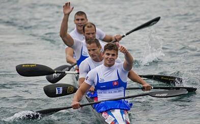 Štvorkajak po výbornom výkone posiela na Slovensko striebornú olympijskú medailu