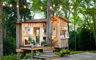 Štýlové malé domy ťa presvedčia, že 30 m² na bývanie úplne stačí
