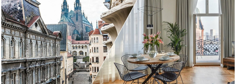 Štýlové ubytovanie priamo v centre Brna, ktoré ťa nebude stáť celú výplatu. Okús Moravu s priateľmi vďaka S&W