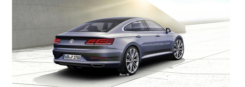 Štýlový Passat príde až o rok, no už teraz  vieme, ako bude nový Volkswagen CC vyzerať