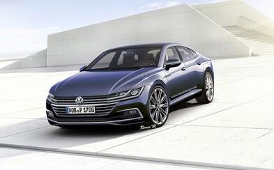 Stylový Passat přijde až za rok, ale už nyní víme, jak bude nový Volkswagen CC vypadat