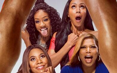Štyri nadržané kamarátky vyrážajú na dobrodružnú jazdu plnú sexu a chľastu v necenzurovanom traileri komédie Girls Trip