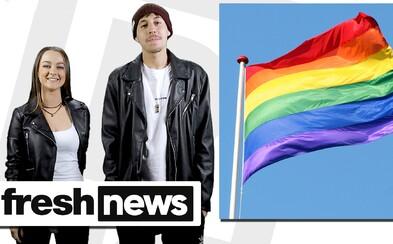 Sú Slováci za sobáše homosexuálov? V najnovších Freshnews sa dozvieš, čím aktuálne žije Slovensko aj svet a výhercu súťaže o tenisky