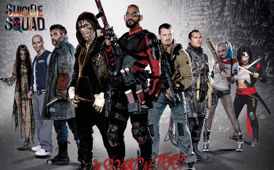Suicide Squad na nových obrázkoch, plagátoch a videu o futbalovom tíme zloženom zo zločincov