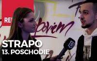 Súkromný listening Strapovho albumu na trinástom poschodí budovy Technopolu v Bratislave navštívili aj Laci Strike, Zrebný či Frlajs (Video)