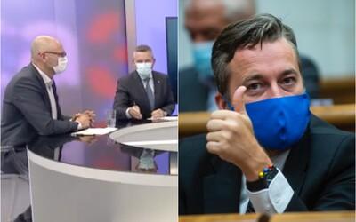 Sulík: Fico je aspoň štátnik, keď bude vládu odvolávať Blaha, bude to groteska. Asi bude, smeje sa Pellegrini