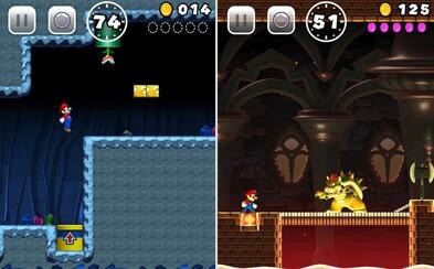Super Mario prichádza na iOS! Zlatá éra nintendovskej hry je späť