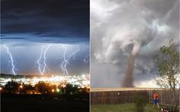 Supercelárne búrky a krupobitie, vylúčené nie je ani tornádo. Na Slovensko sa valí vlna extrémnych búrok