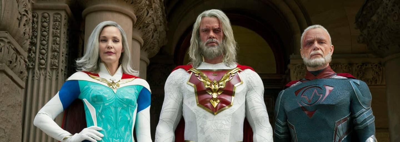 Superhrdinové v důchodu napravují chyby svých dětí. Spojí síly proti zlu, které ohrožuje lidstvo?