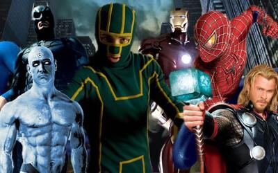Superhrdinská kompilácia ponúka pohľad na stovku komiksových filmov z posledných päťdesiatich rokov