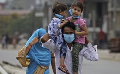 Superpřenašeč v Indii dostal 40 tisíc lidí do karantény, sám koronaviru podlehl