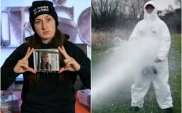Superstáristka Barbora Piešová pokřtila album jako ještě nikdo. Potřebovala hasičské auto a ochranný oblek