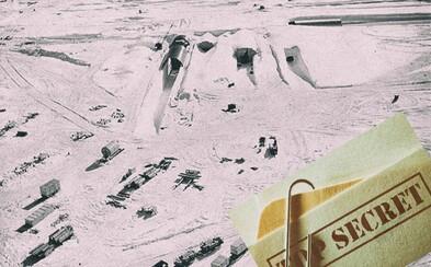 Supertajnú vojenskú základňu, ktorej podzemný areál mal dosahovať dĺžky stoviek kilometrov, napokon pohltil sneh a ľad