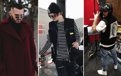 Supreme, luxusné doplnky a Yeezy Boost. Čo aktuálne nosia českí a slovenskí raperi?