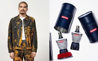 Supreme odhaluje velkolepou kolekci s Jean Paul Gaultierem. Nechybí ikonický parfém v novém kabátě