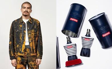 Supreme odhaľuje veľkolepú kolekciu s módnym návrhárom Jeanom Paulom Gaultierom. Nechýba ani ikonický parfum v novom šate