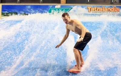Surfovať sa dá po celý rok aj na Slovensku! V Tatralandii znovu prežiješ to najlepšie leto