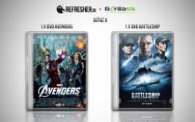 Súťaž o DVD Avengers a Battleship