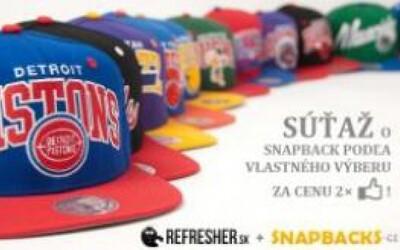 Súťaž o Snapback od Snapbacks.cz