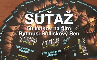 Soutěž: Rozdáváme 50 lístků na předpremiéru Rytmusova filmu Sídliskový sen