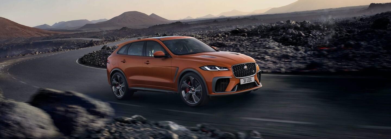 SUV od Jaguaru je nově ještě agresivnější a rychlejší