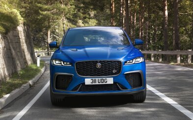 SUV od Jaguaru je po novom ešte agresívnejšie a rýchlejšie