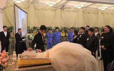 Svatba se zesnulou snoubenkou: Muž jí splnil poslední přání, prohrála boj se zákeřnou nemocí