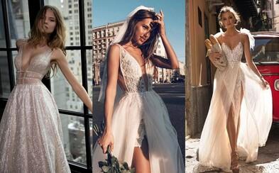 Svadobné a večerné šaty ako z rozprávky. Do návrhov módneho domu Berta sa zamiluje každá žena