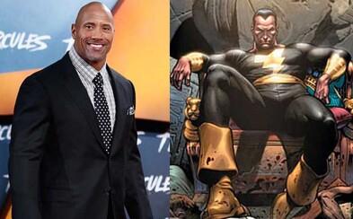Svalnatý The Rock a Shazam budú zdielať filmový DC svet so Supermanom