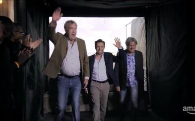 Svatá trojka Top Gearu je zpět! The Grand Tour v čele s Clarksonem předznamenává velké věci v nové upoutávce