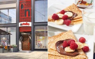 Své brány brzy otevře první oficiální Nutella restaurace! Život si tam osladíš i palačinkami či vaflemi, ale i polévkou a salátem
