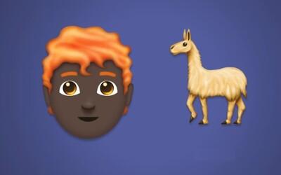 Své emoji konečně dostanou i zrzaví. Letos přibude 157 nových emotikonů, mezi nimi i lama nebo zamilovaní lidé