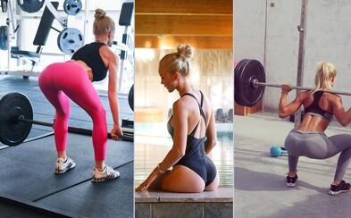 Švédska fitness kráľovná Alexandra Bring môže byť inšpiráciou pre množstvo žien