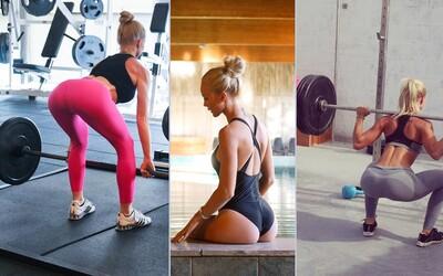 Švédská fitness královna Alexandra Bring může být inspirací pro mnoho žen
