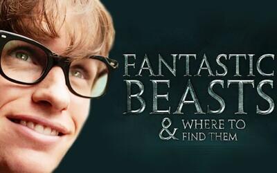 Svet Harryho Pottera je späť, v hlavnej úlohe s Eddiem Redmayneom