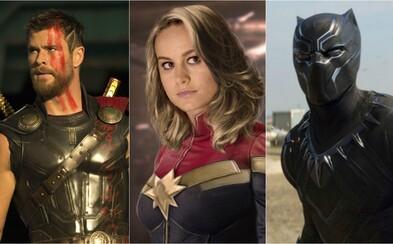 Svět Marvelu: Kdo natočí Captain Marvel, kdo se objeví v sólovce Thora a jaká bude role Black Panthera v budoucích filmech Marvelu?