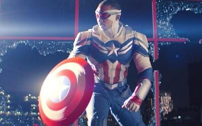 Svět Marvelu má nového Captaina Americu. Sam rozcupoval v médiích vládu USA a dal černochům hrdinu, na kterého mohou být hrdí
