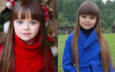 Svet objavil nové najkrajšie dievča. Malá Ruska Anastasia má iba 6 rokov, ale na Instagrame ju sleduje už cez 500-tisíc fanúšikov