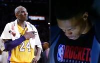 Svet sa lúči s Kobe Bryantom. Basketbalovú legendu si uctili minútou ticha hráči NBA, internetom sa šíria emotívne videá
