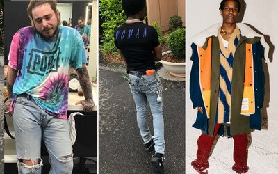 Svetoví raperi ešte stále obľubujú extravagantné kúsky a pestré farby. Ako sa obliekajú najskloňovanejšie mená súčasnosti?