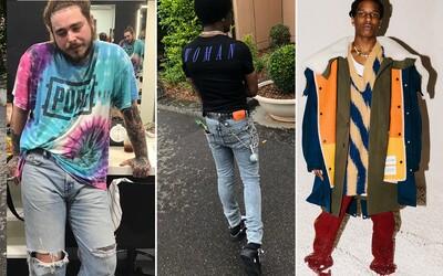 Světoví rapeři mají pořád v oblibě extravagantní kousky a pestré barvy. Jak se oblékají nejskloňovanější jména současnosti?
