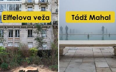 Světoznámé památky vyfotografované nesprávně. Co se skrývá naproti Eiffelově věži nebo pyramidám?