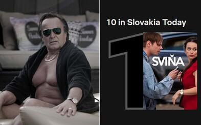 Sviňa valcuje Netflix. Film o mafii vo vysokej politike už je najsledovanejším titulom na Slovensku