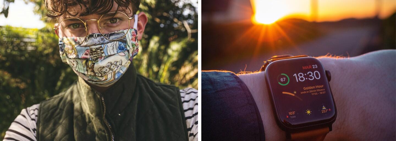 Svůj iPhone si budeš moci odemknout, i když máš na obličeji respirátor. Potřebuješ k tomu Apple Watch