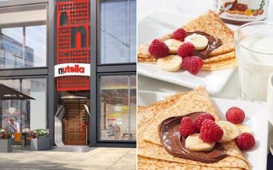 Svoje brány čoskoro otvorí prvá oficiálna Nutella reštaurácia! Život si tam osladíš aj palacinkami či wafflami, ale aj polievkou a šalátom